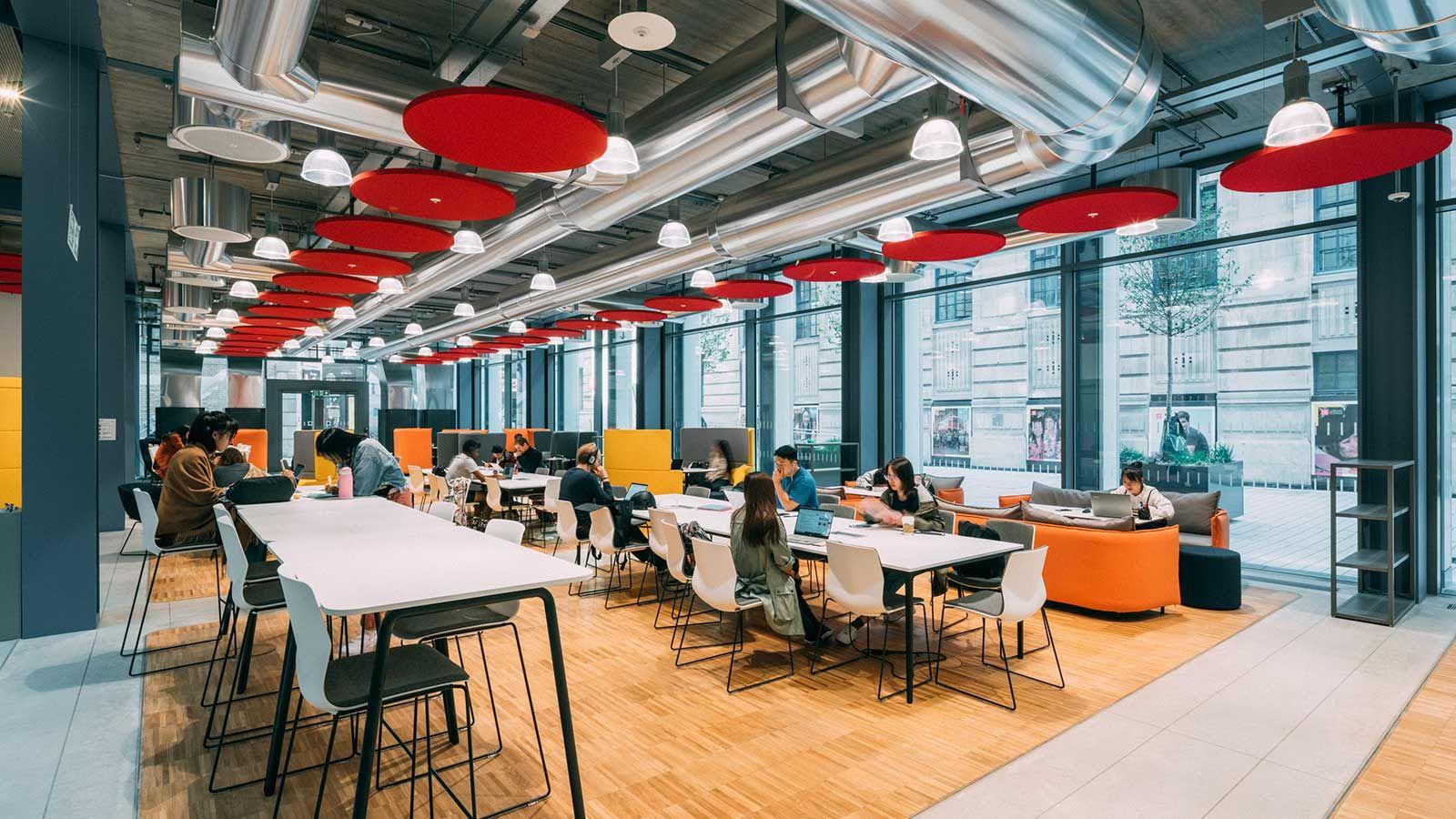 LSE Study Hub, Study Space - Mace Group
