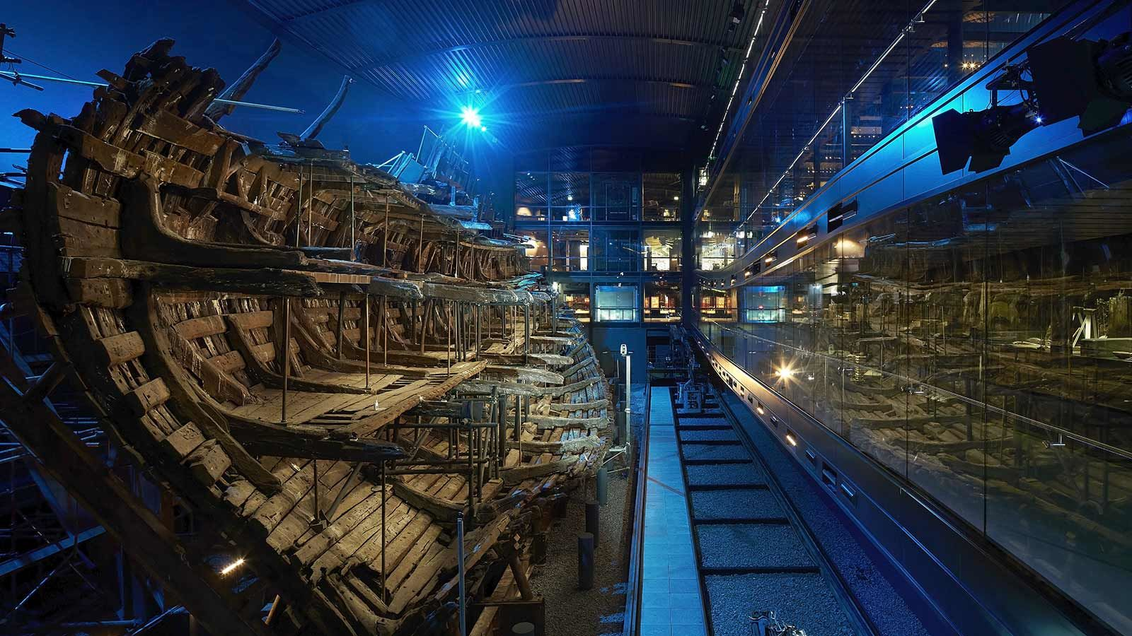 Mary Rose Museum, Ancient Interior - Mace Group