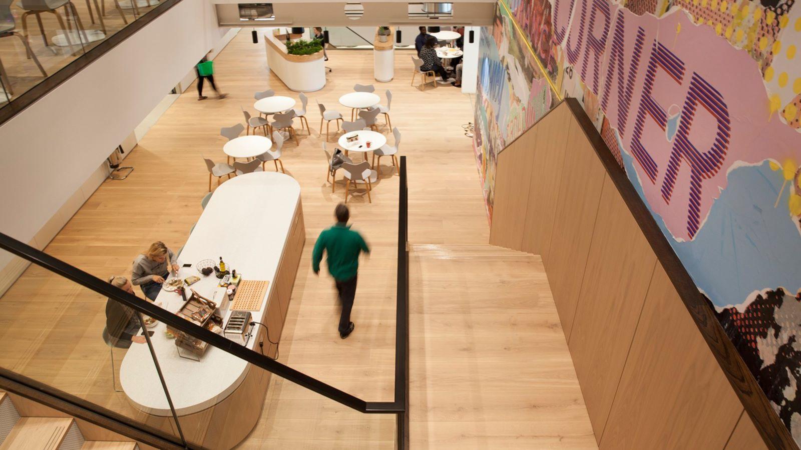 Interior of Money Supermarket Building - Mace Group