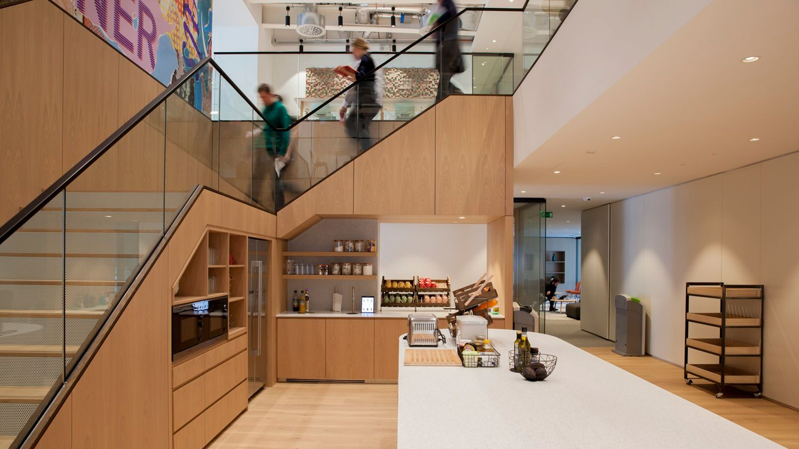 Money Supermarket Building, Stairs - Mace Group