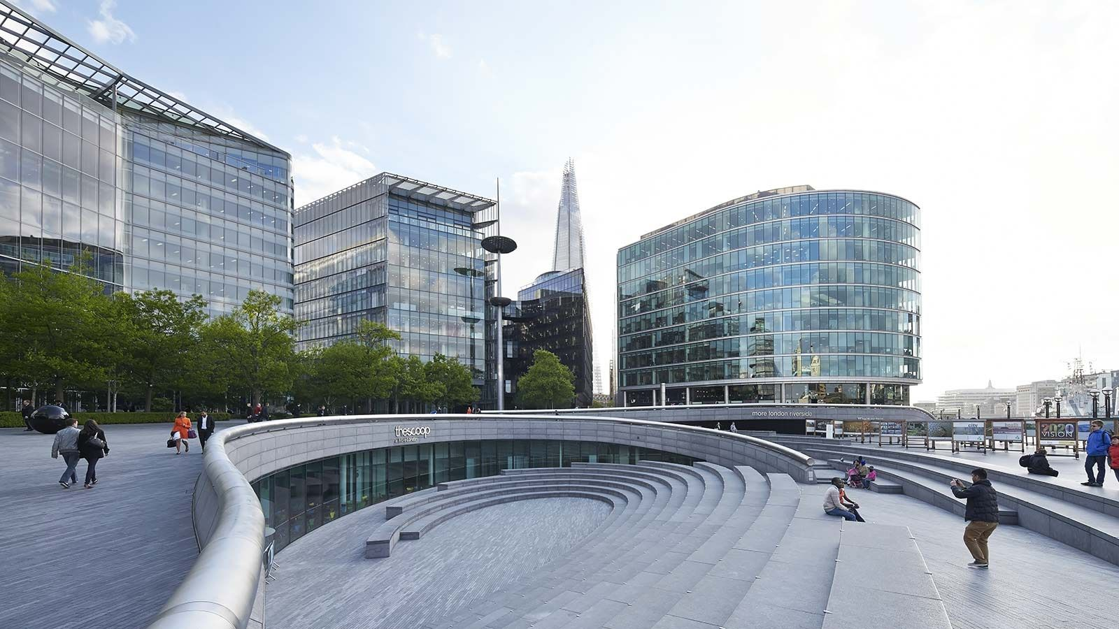 London City Hall, Stairs - Mace Group