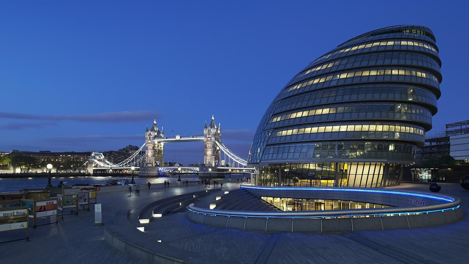 London City Hall, Egg Shaped Building - Mace Group