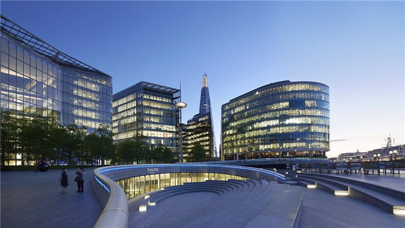 Night View of London City Hall - Mace Group