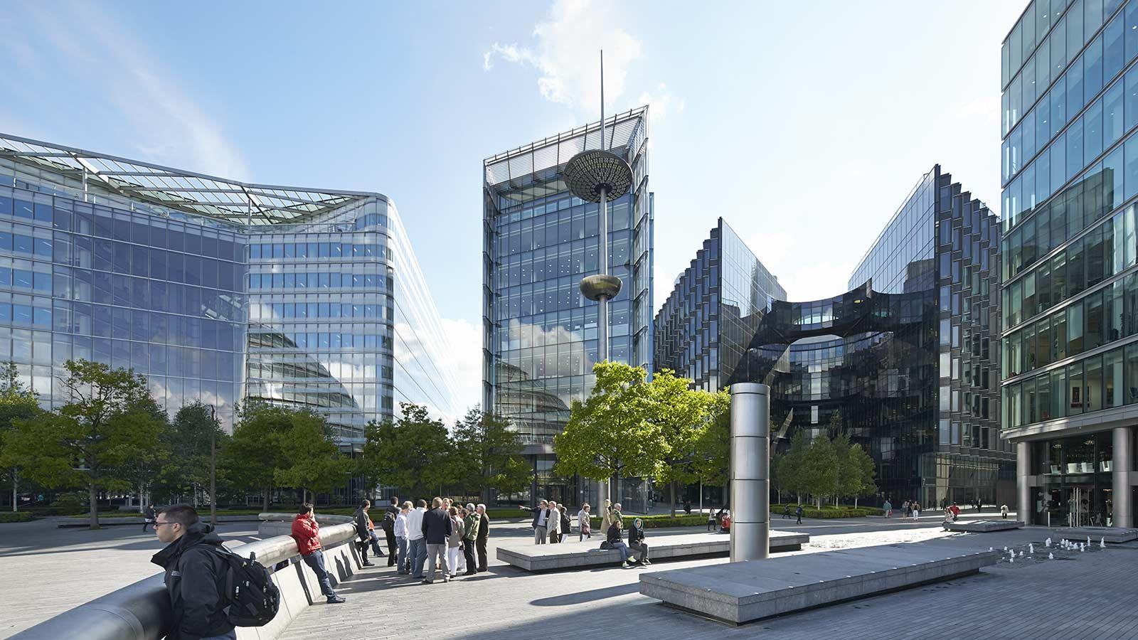 London City Hall Surrounding Buildings - Mace Groups