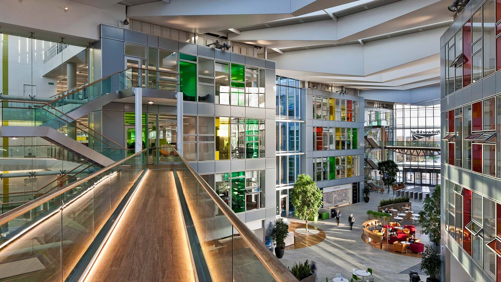 Inside National Centre for Network Rail Building - Mace Group