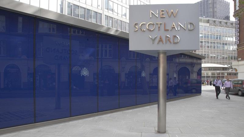 New Scotland Yard Sign - Mace Group