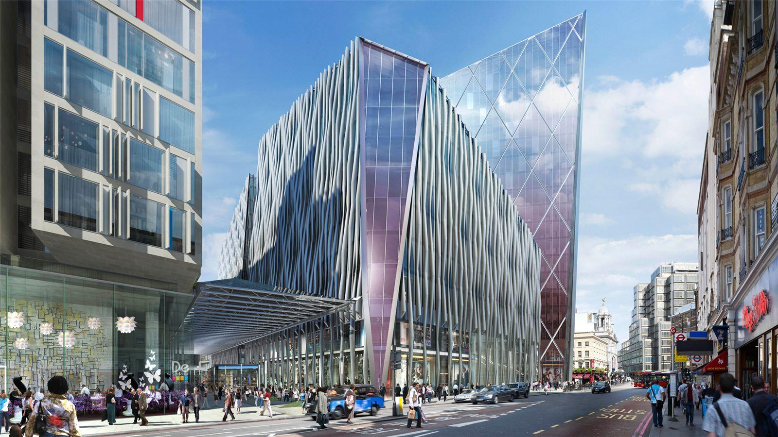 Street View of The Nova Building Exterior - Mace Group