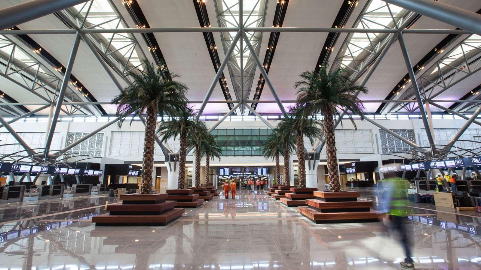 Oman Airport interior - Mace Group