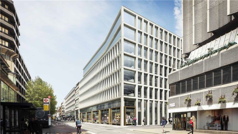 Street View of One Bedford Avenue Building - Mace Group