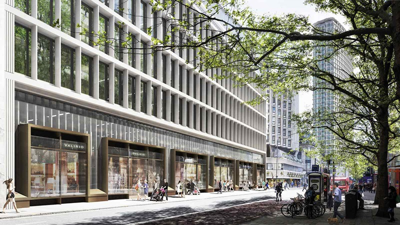 Exterior View of One Bedford Avenue Building - Mace Group