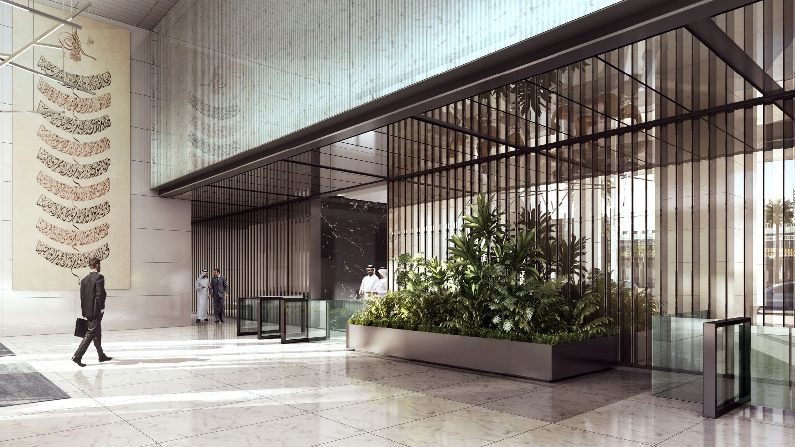 Entrance of One Zaabeel Building - Mace Group