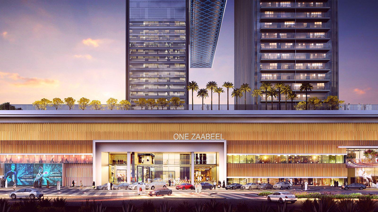 CGI View of One Zaabeel Building - Mace Group
