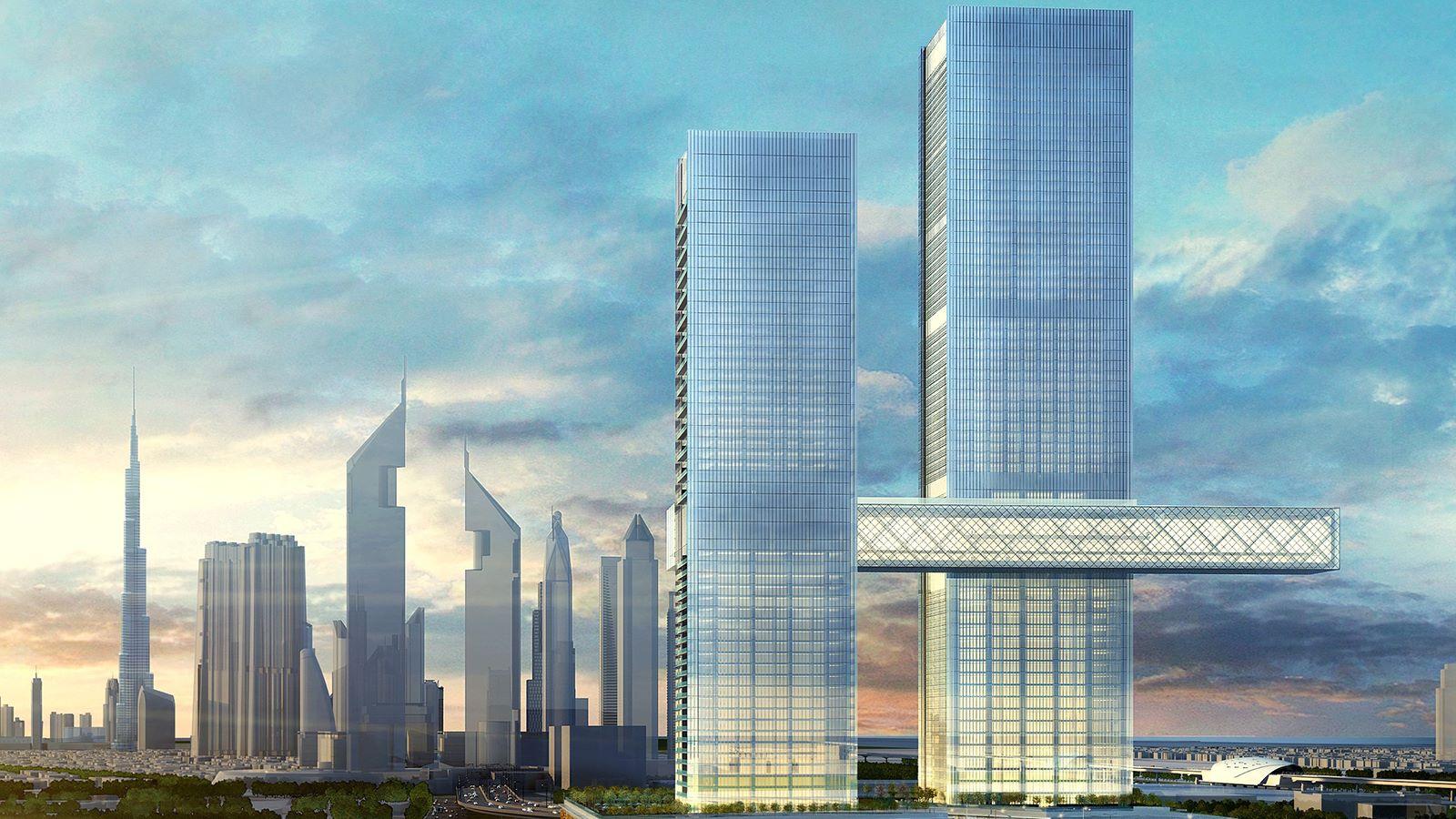One Za'abeel, Dubai Linked Towers - Mace Group