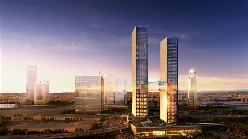 Dubai Za'abeel Building, Linked Towers - Mace Group
