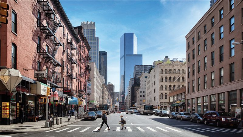 Street Crossing, Port Authority Building - Mace Group