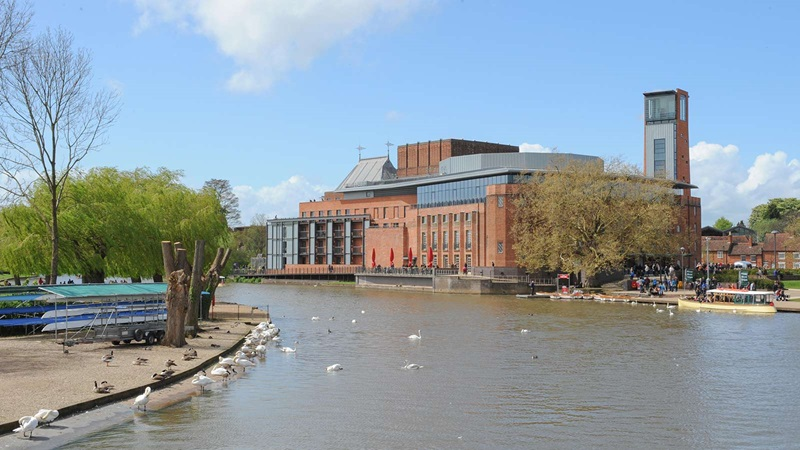 Lake View of Royal Shakespeare Theatre - Mace Group
