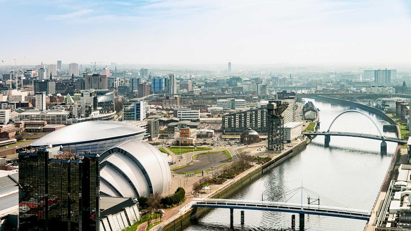 Scottish Enterprise LCIP, Glasgow Skyline River View - Mace Group