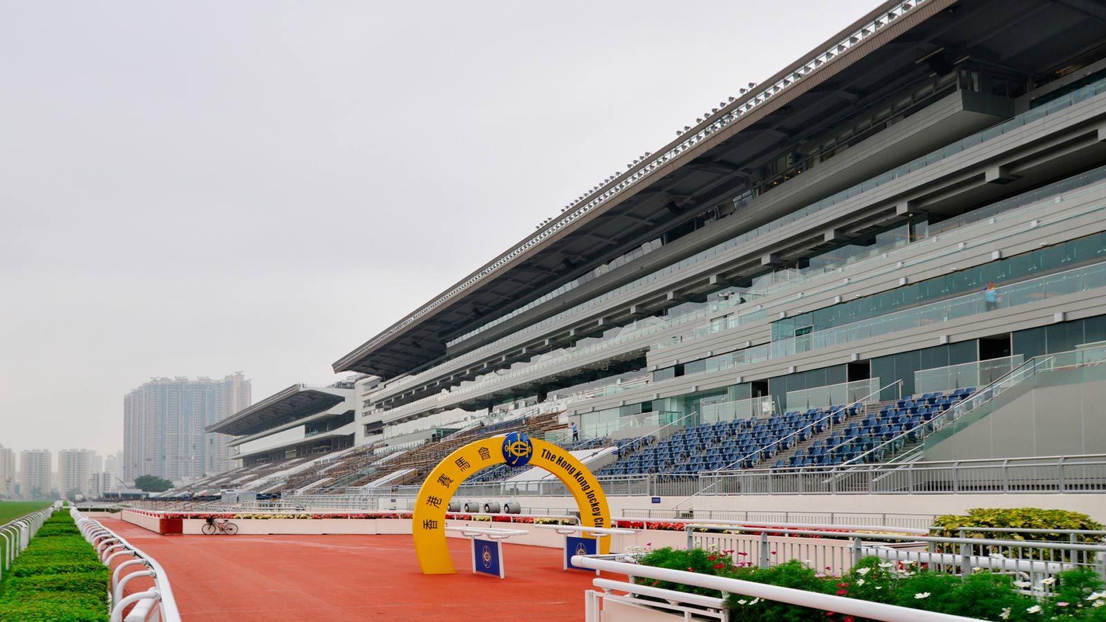 Sha Tin Racecource Fan Seating Area - Mace Group