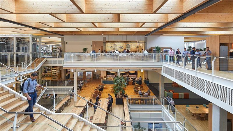 Sky Central Office Interior - Mace Group