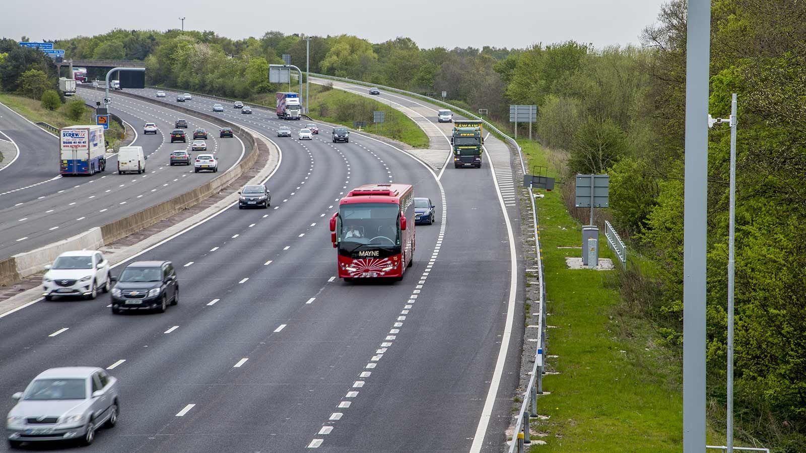 Smart Motorways, Cars on Highway - Mace Group