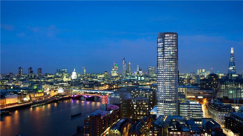 London Southbank Tower, Night View - Mace Group