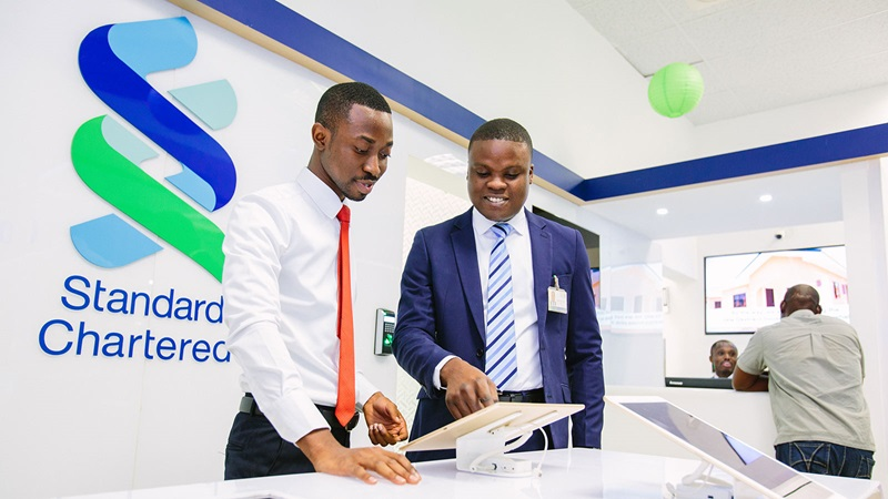 Standard Chartered Bank Male Coworkers - Mace Group