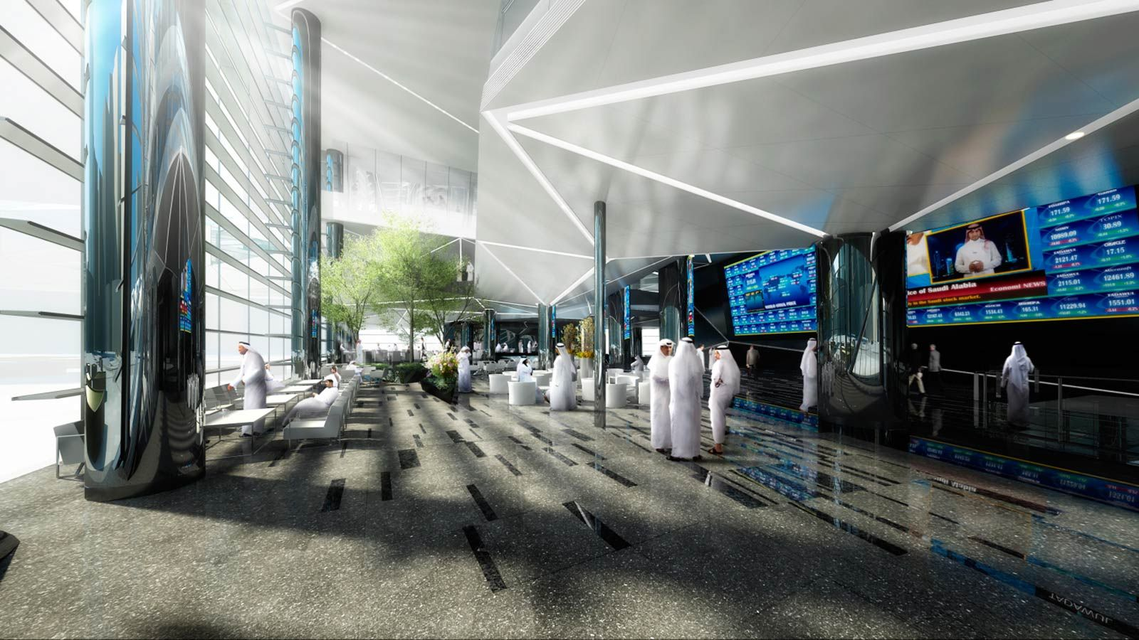 Tadawul a New Silhouette on the Saudi Arabian Skyline - Mace Group