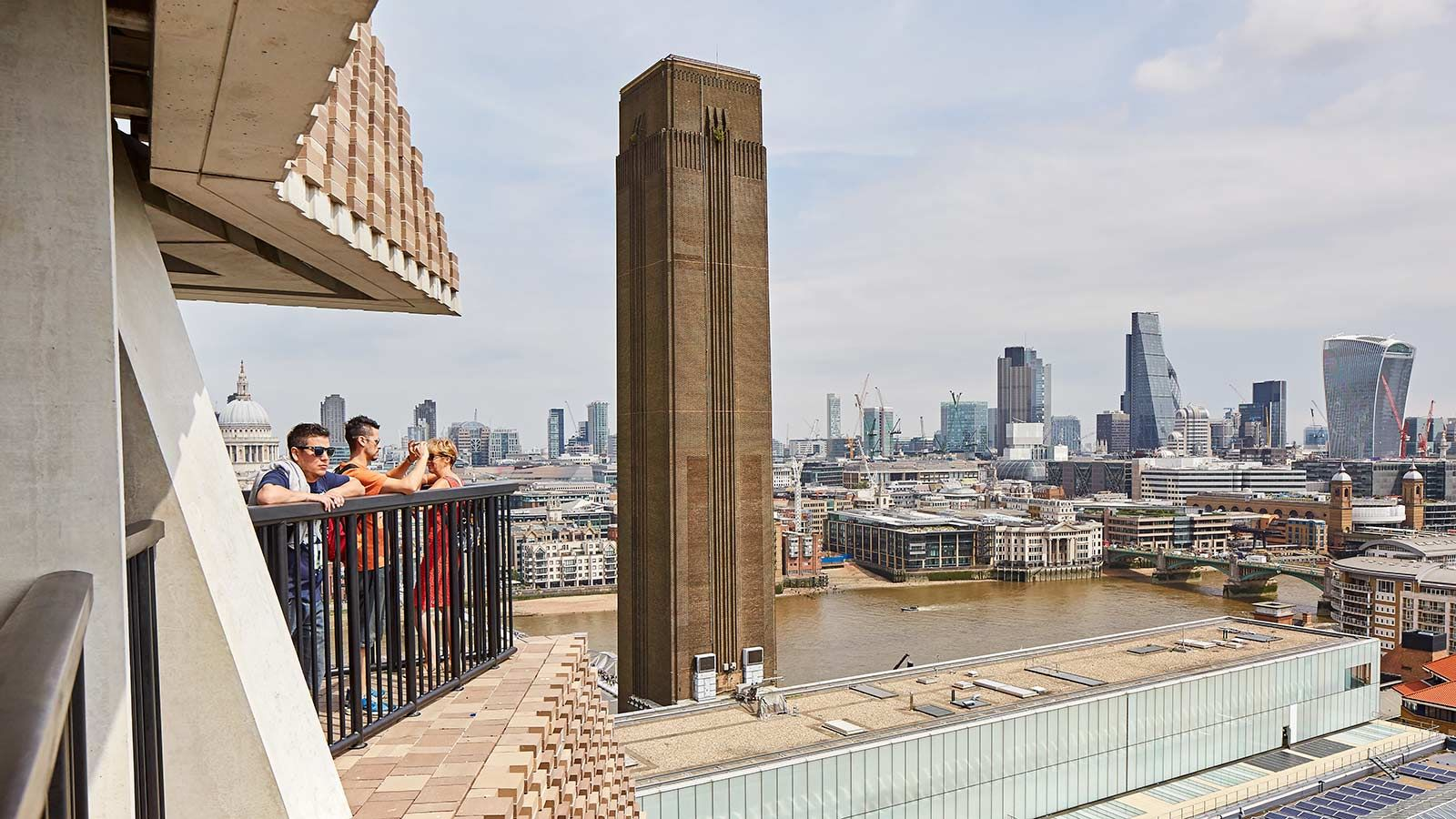 London's South Bank View From Tate Modern Gallery - Mace Group