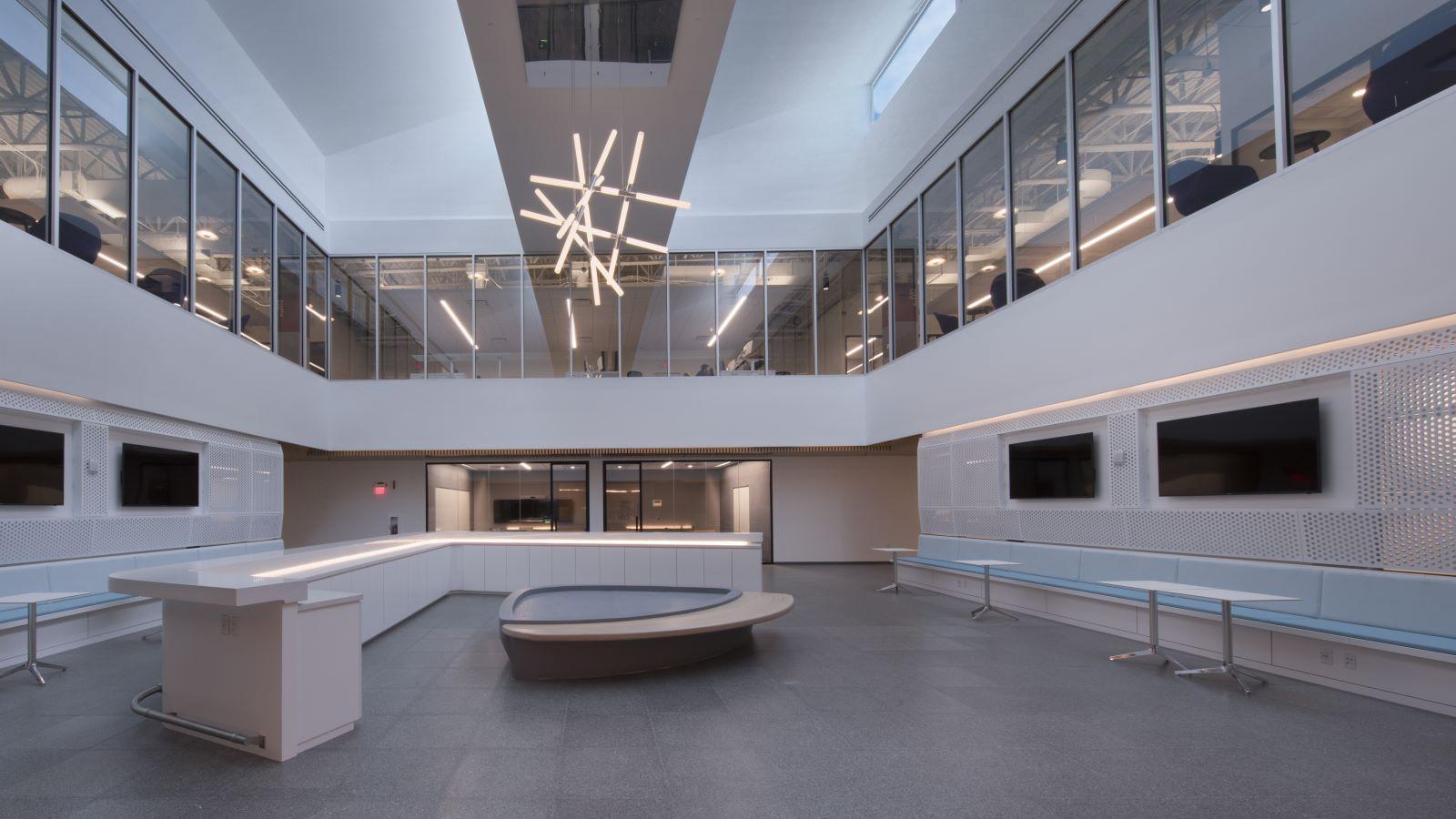 Telemundo Luxury Modern Interior, Collaborative Campus - Mace Group