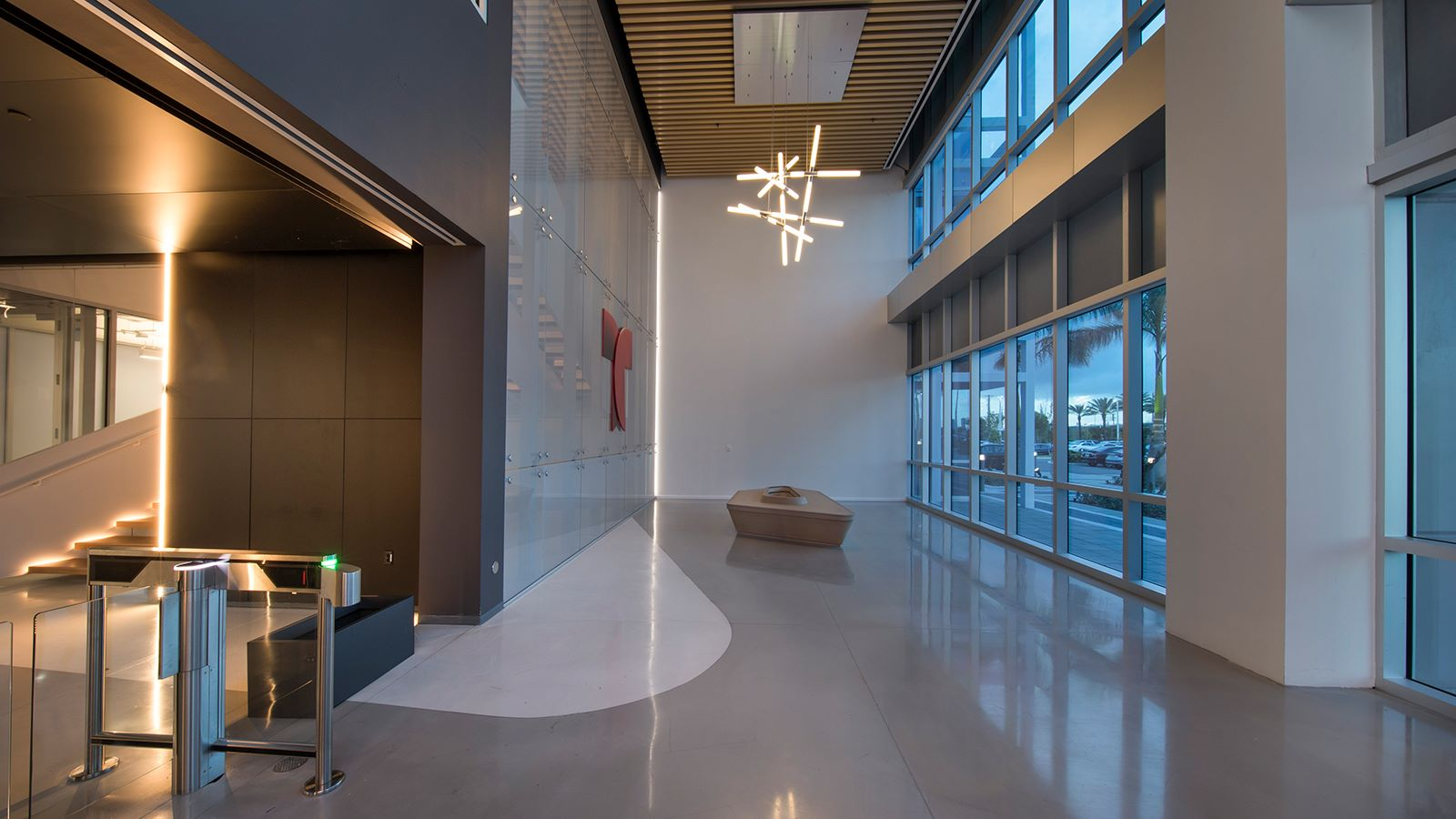 Telemundo Campus Miami, Main Entrance Lobby Area - Mace Group