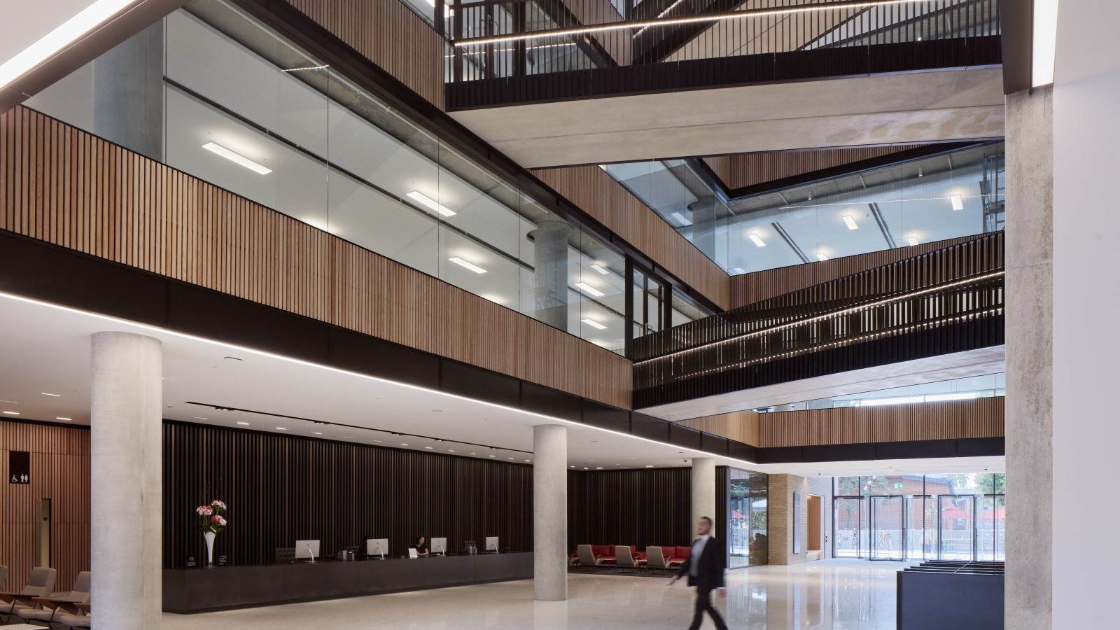 Television Centre Lobby Reception Are - Mace Group