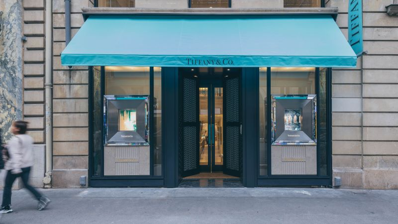 Tiffany & Co Retail Store Front - Mace Group