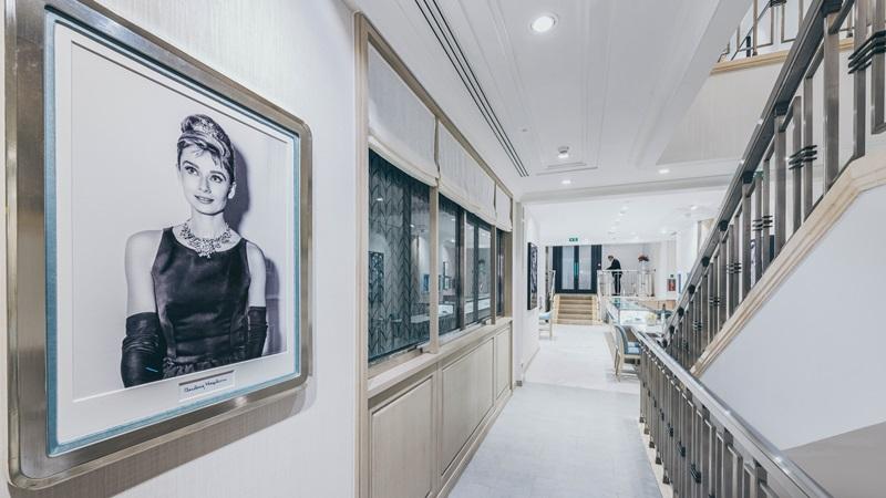Inside Tiffany & Co store - Mace Group