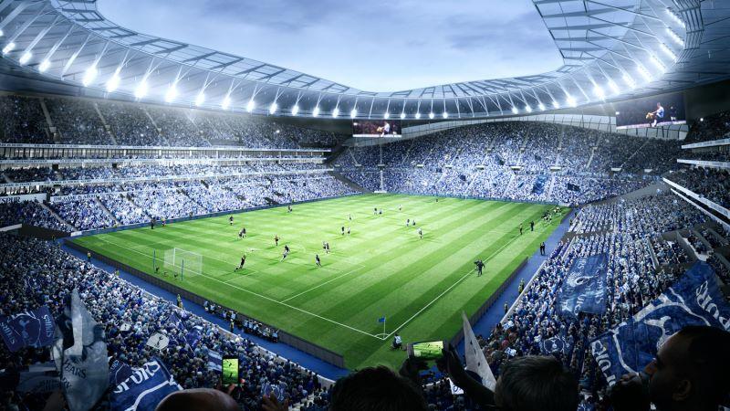 Tottenham Hostpur Stadium Football Pitch - Mace Group