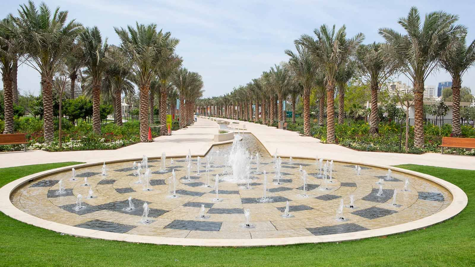 Fountains at Umm Al Emarat Park - Mace Group