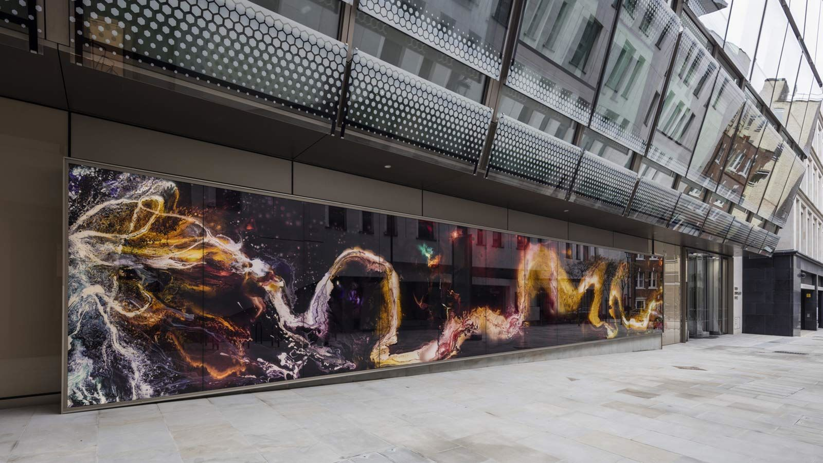 Digital Screen at W5 – New Burlington Place Building - Mace Group