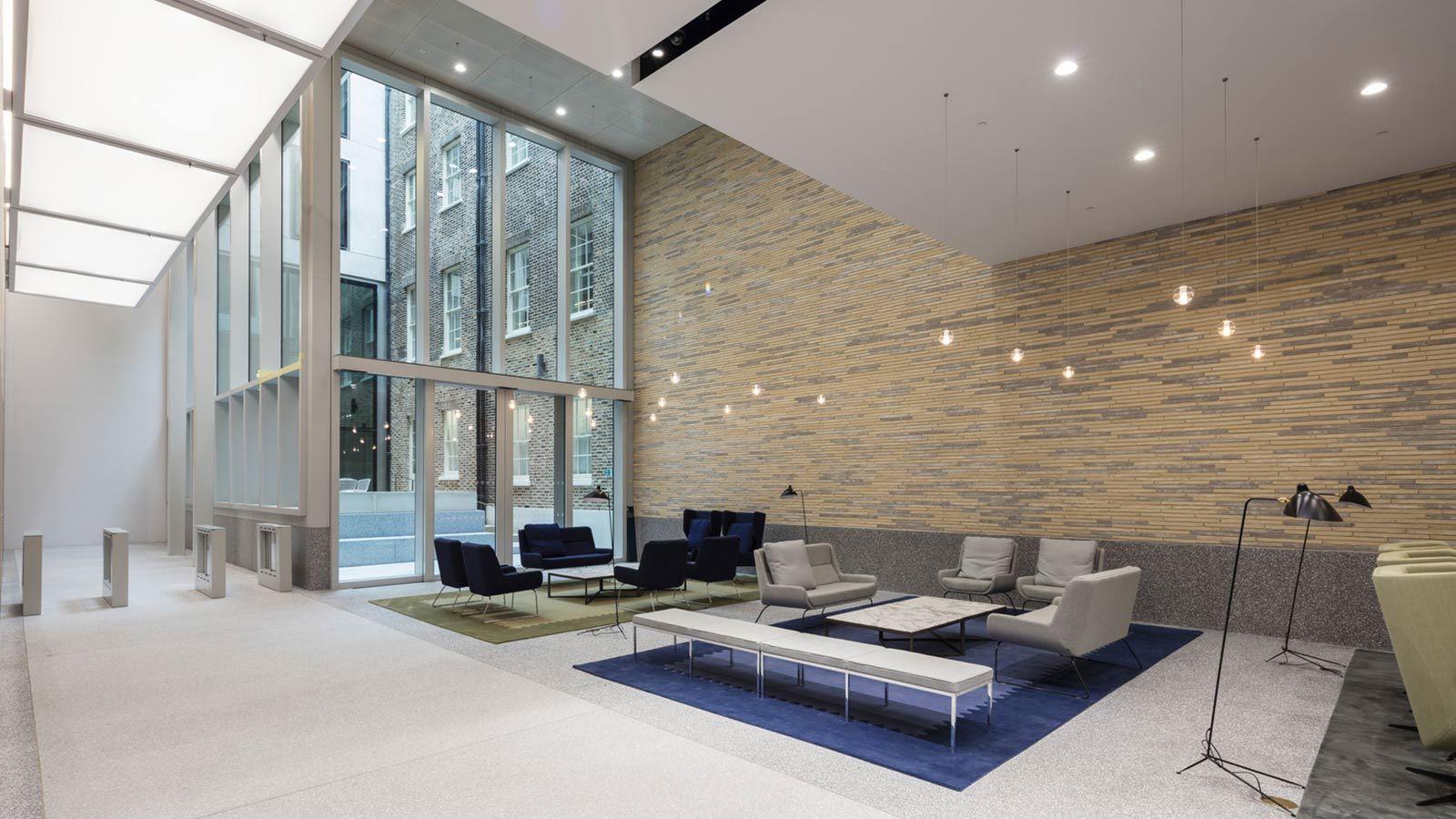 Luxury Modern Office Furniture, W5 – New Burlington Place Building - Mace Group