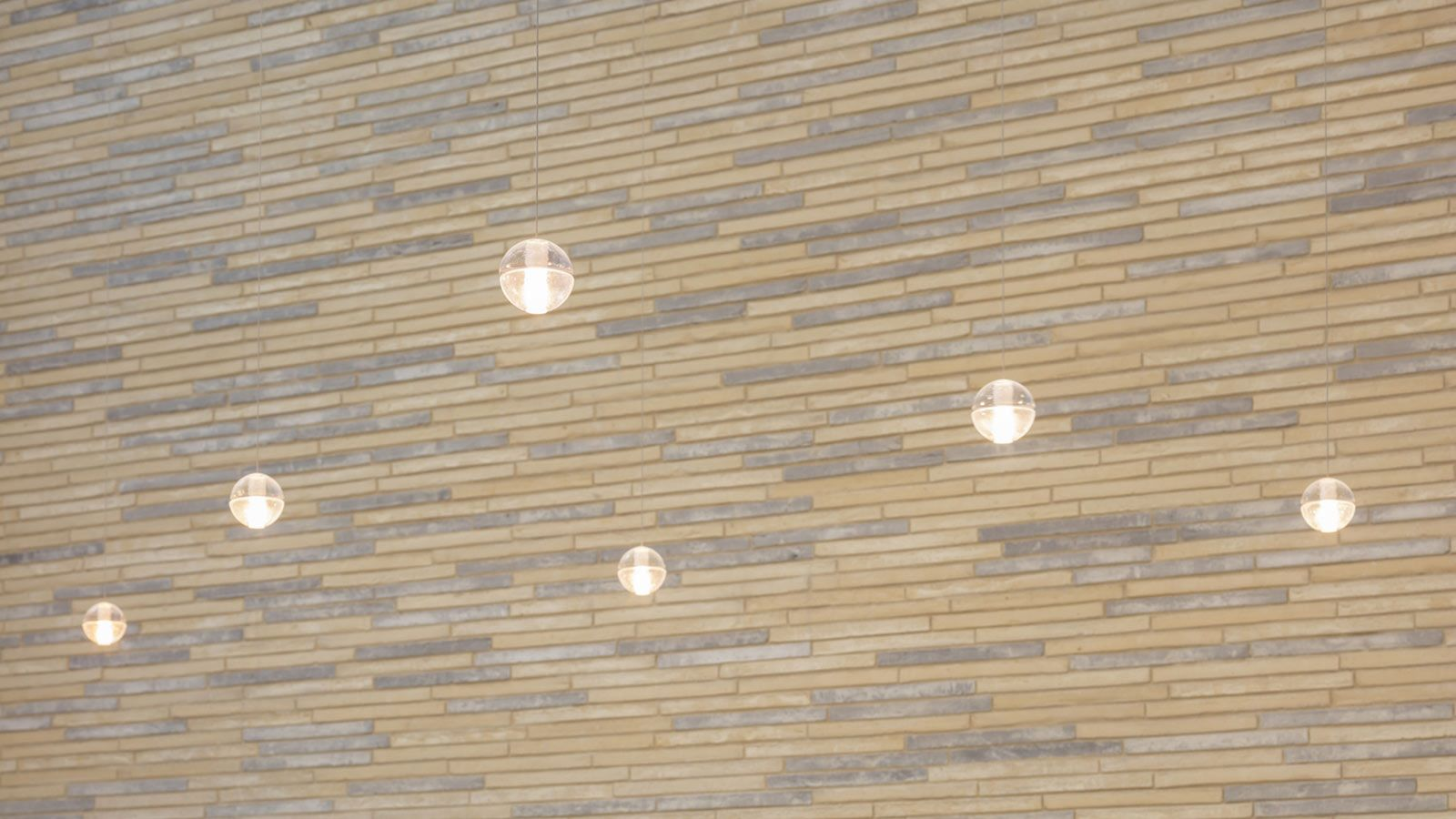 Office Hanging Lights, W5 – New Burlington Place Building - Mace Group