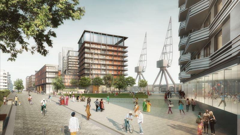 Vibrant New Waterfront Neighbourhood Near Canary Wharf - Mace Group