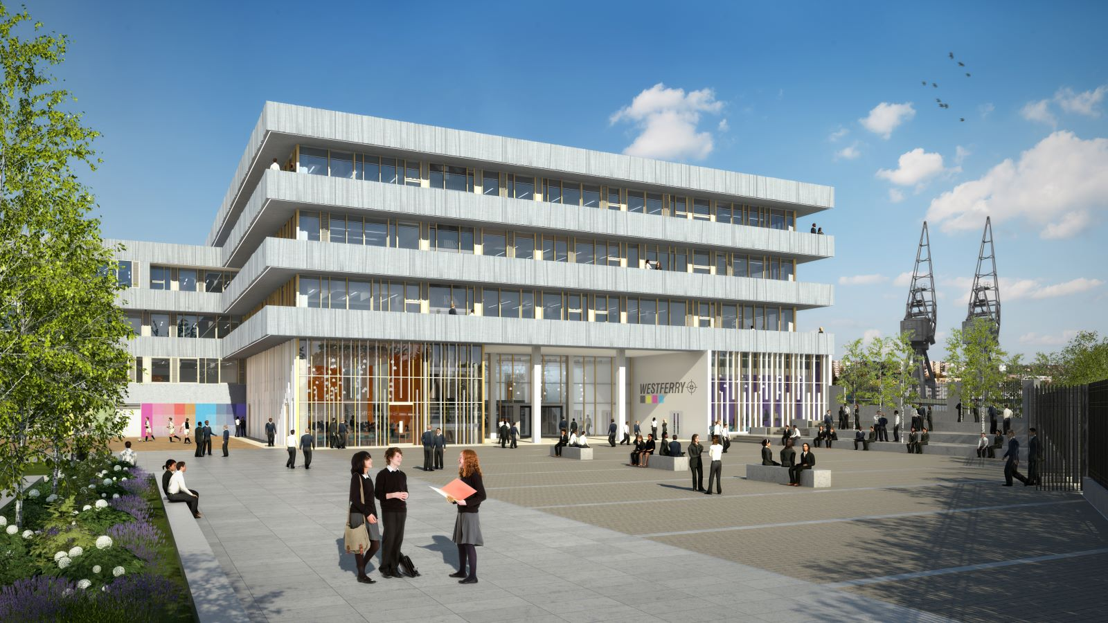 Westferry Printworks Building Exterior Mace Group