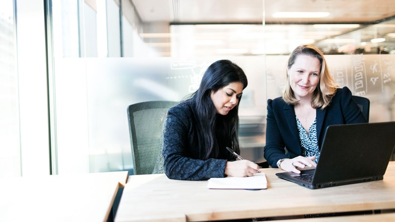 Female Coworkers, Programme Management - Mace Group