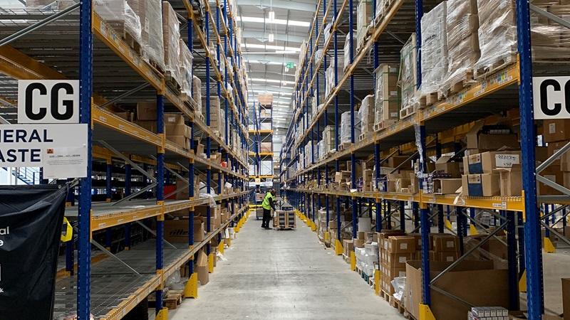 Warehouse Aisle - Mace Group