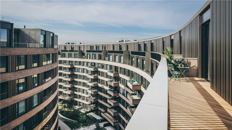 Luxury Residential Apartments, Balcony - Mace Group